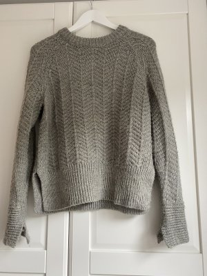 H&M Coarse Knitted Sweater grey