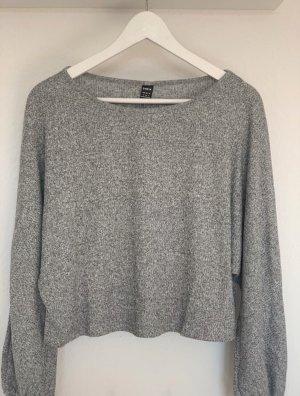 SheIn Crewneck Sweater grey-light grey
