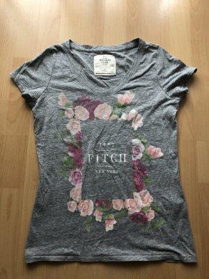 Grauer T-Shirt A&F XS