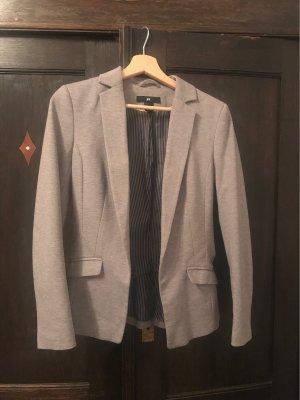 H&M Tweed Blazer light grey