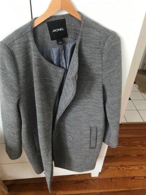 Monki Oversized Coat grey wool
