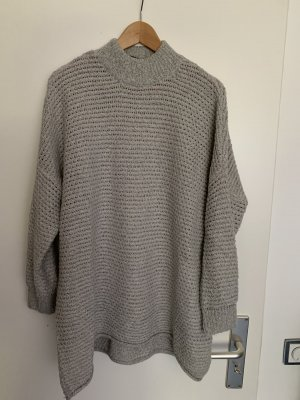 Selected Femme Coarse Knitted Sweater grey
