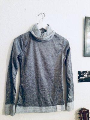 Decathlon Maglione dolcevita grigio