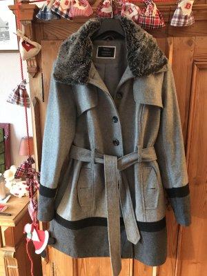 C&A Yessica Krótki płaszcz szary