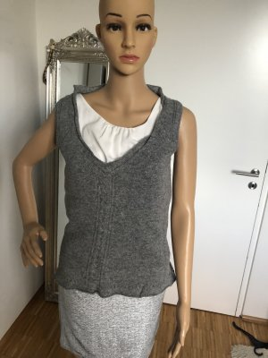 R.E.D. Valentino Fine Knitted Cardigan grey