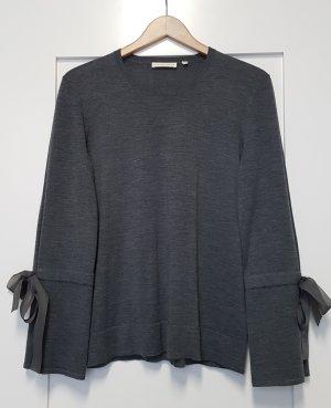 (The Mercer) NY Kraagloze sweater donkergrijs