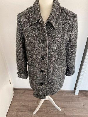 Wool Coat grey-white