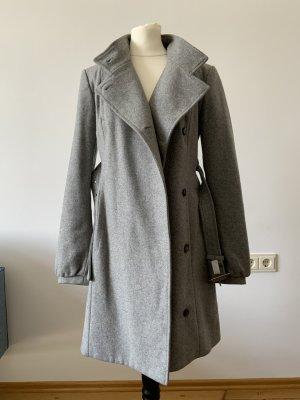 Patrizia Pepe Cappotto in lana argento