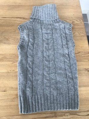 H&M Cardigan en maille fine gris foncé-gris