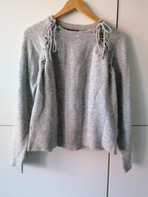 Review Pull en laine gris clair