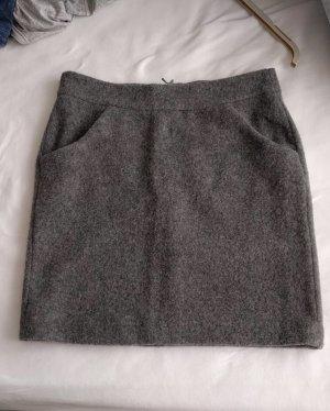 More & More Wollen rok grijs