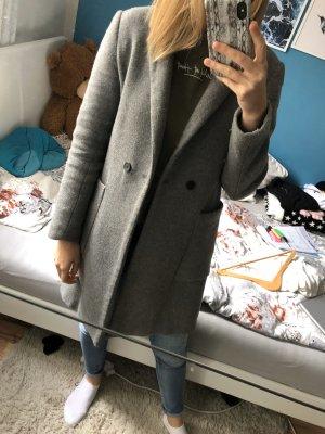 grauer Zara Mantel