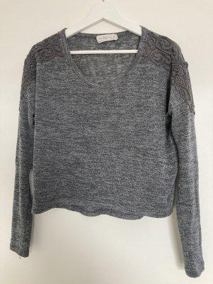 Graues Abercrombie & Fitch Sweatshirt