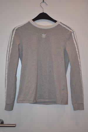 Adidas Suéter blanco-gris claro