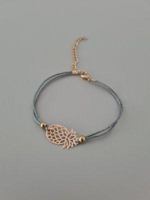 Armband goud-grijs