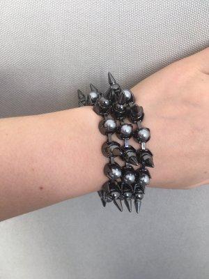 Allsaints Bracciale di perle multicolore