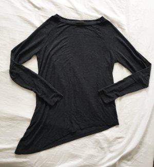 Graues asymmetrisches Oberteil von Vero Moda