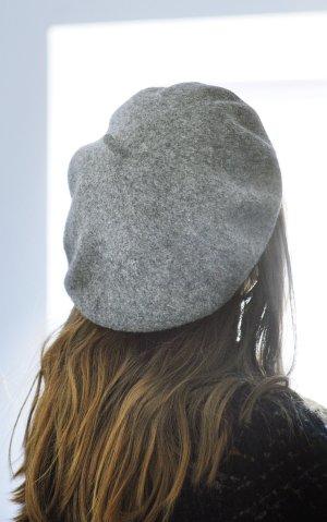 H&M Béret gris clair-gris
