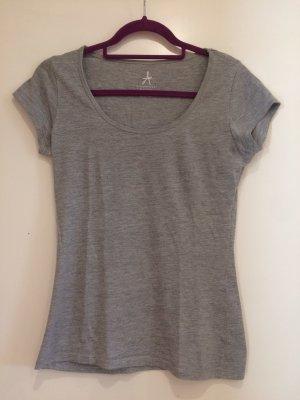 Graues basic T-Shirt, Gr. 36, Atmosphere