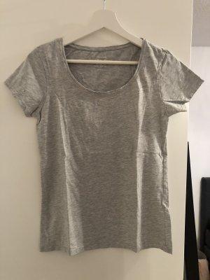 Graues basic tshirt