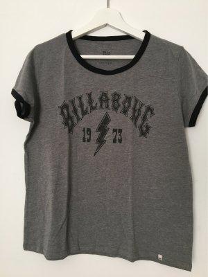Billabong T-shirt szary-czarny