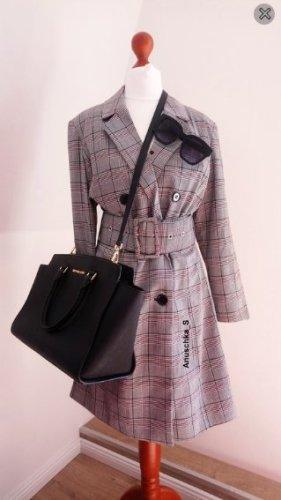 Nakd Robe manteau multicolore tissu mixte