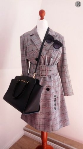 Nakd Robe manteau multicolore coton