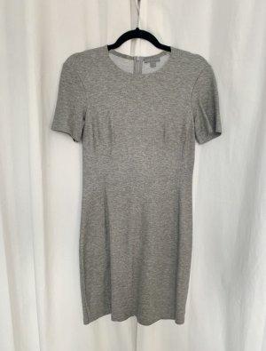 Graues COS Kleid Stretchkleid XS