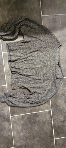 Sheinside Cropped Jumper grey