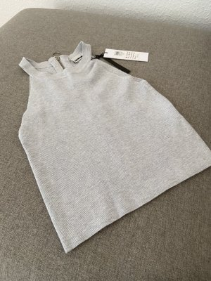 graues Cropped Top