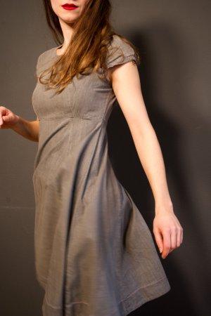 Graues Denim Kleid von ICHI
