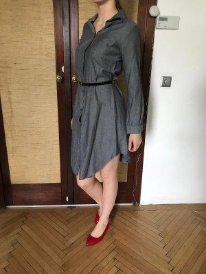 graues Hemdkleid