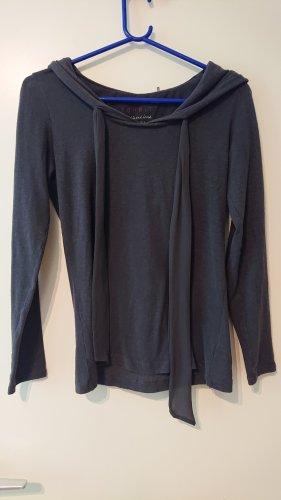 Esprit Shirt met capuchon grijs