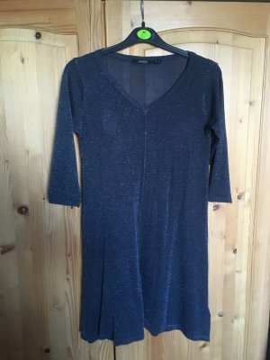 graues Kleid/Glitzerkleid (Esmara, S,38/40)