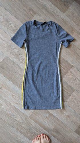 H&M Vestido de tela de jersey multicolor