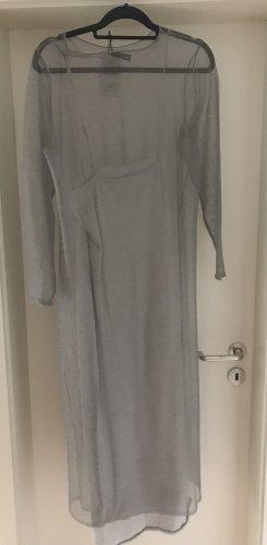 Graues Kleid, Zara, neu und ungetragen, L