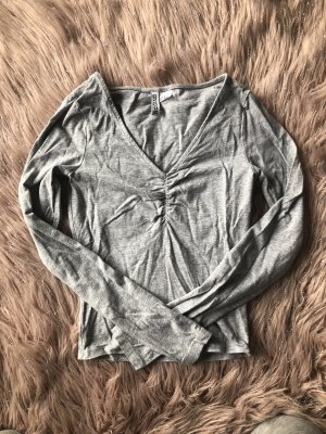 H&M Top basic grigio chiaro
