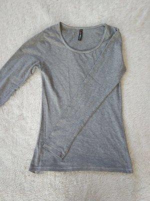 FB Sister Camicia a maniche lunghe grigio chiaro-grigio