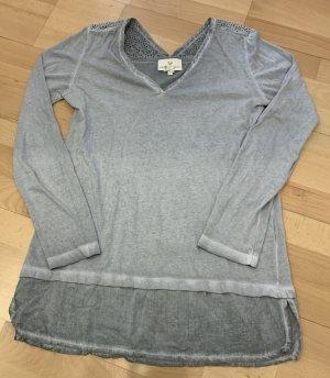 Lieblingsstück Top à manches longues gris clair-gris