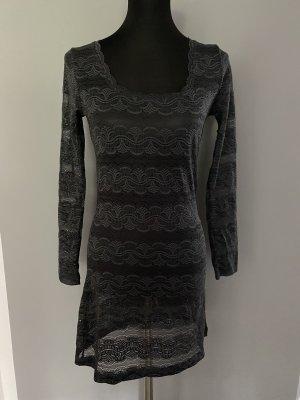 Graues Netzkleid / Kleid von Cream, Gr. S