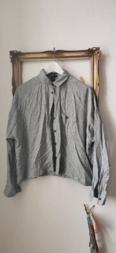 Graues oversized Hemd