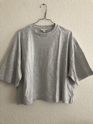 Graues oversized Shirt