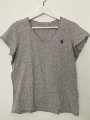 Polo Ralph Lauren T-shirt szary-niebieski Bawełna