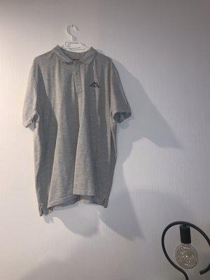 Kappa Polo Shirt light grey-grey