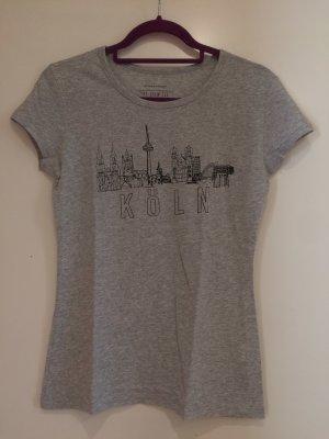 Graues Rundhals T-Shirt 'KÖLN'