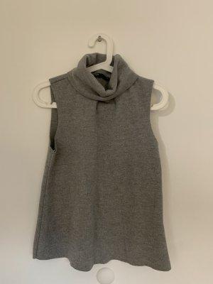 Zara Ensemble en tricot gris clair