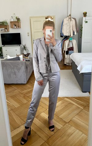 s.Oliver Twin Set tipo suéter gris claro-color plata