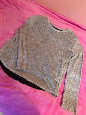 Davantino (per blusa) nero-grigio