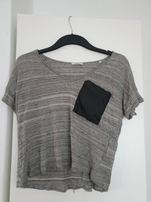 Kiomi Cowl-Neck Shirt grey