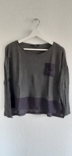 Mavi Camicia cropped grigio-grigio scuro